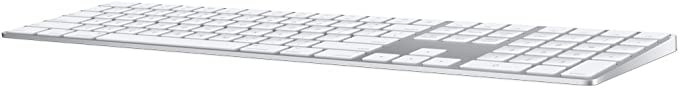 Apple Magic Keyboard with Numeric Keypad Wireless Rechargable US English  Silver at Kapruka Online for specialGifts