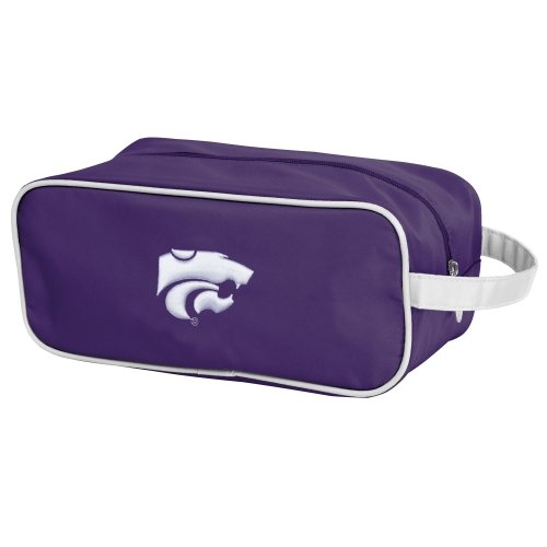 Charm14 NCAA Kansas State Wildcats Travel Case-Toiletry Bag with Embroidered Logo