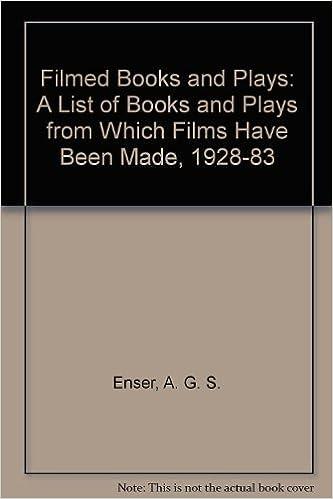 Enser's Filmed Books & Plays