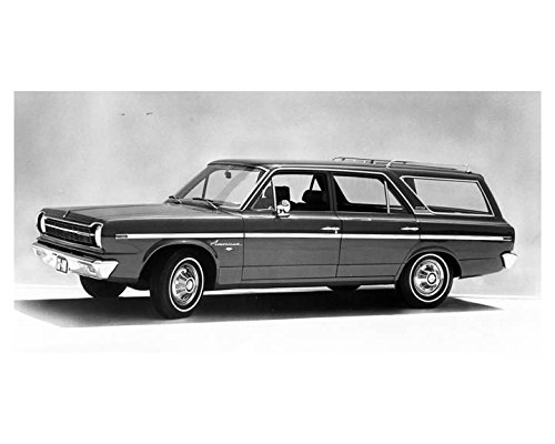 1968 Rambler American 440 Station Wagon Factory Photo