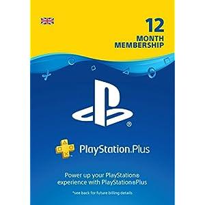 PlayStation Plus: 12 Month Membership | PS5/PS4/PS3 | PSN Download Code – UK account
