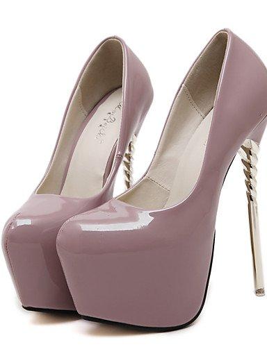 GGX/Damen Schuhe Frühling/Sommer/Herbst/Winter Heels/Peep Toe/Plattform/Fashion Stiefel/Gladiator/Basic Pumpe/ almond-us7.5 / eu38 / uk5.5 / cn38