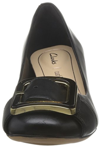 Clarks Orabella Fame - Black Leather Black