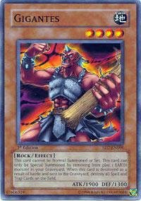 (Yu-Gi-Oh! - Gigantes (SD7-EN006) - Structure Deck 7: Invincible Fortress - 1st Edition - Common)