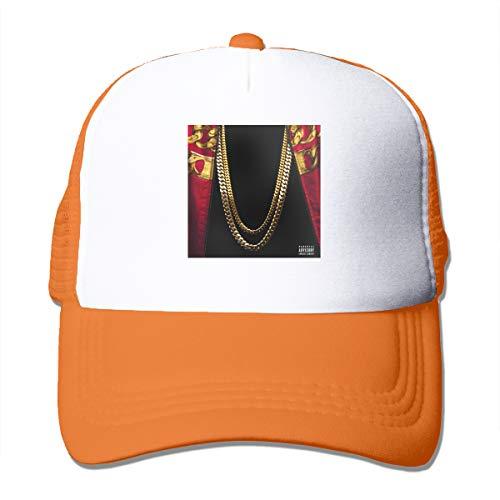 SY COMPACT 2 Chainz Based On A T.R.U. Story Unisex Men's & Women's Comfortable Adult Mesh Caps Adjustable Orange