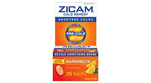 Zicam Cold Remedy Dissolving Tablets Citrus Flavors 45-Count 413qG5khtpL