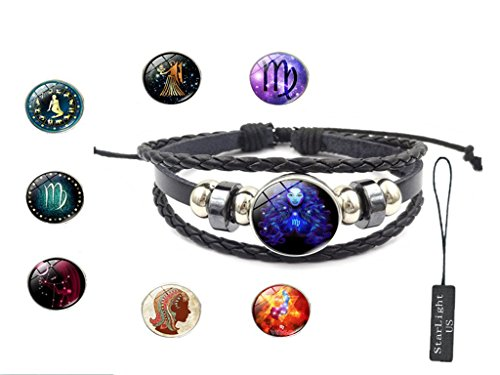 12 Constellation Hand-made Bracelet - 8 Different styles - Makes you different every day. (Adult Taurus Costumes)