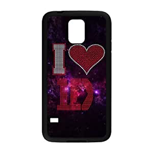 Customizable Phone Case Fashionable Samsung Galaxy S5 Back Case I Love 1D One Direction Beautiful Words