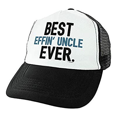ThisWear Uncle Hat Best Effin' Uncle Ever Uncle Birthday Gifts Uncle Niece Uncle Nephew Gifts Trucker Hat