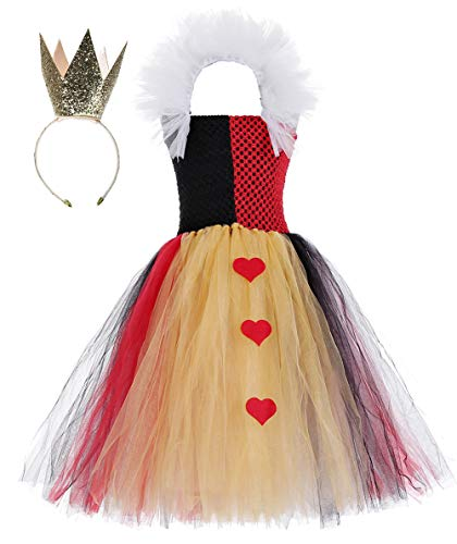 Halloween Role Play Heart Queen Costumes for Little