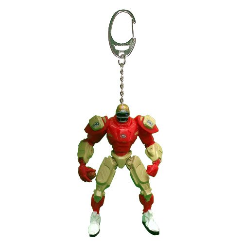 NFL San Francisco 49ers Fox Sports Team Robot Key Chain, 3-inches