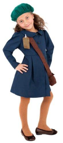 [World War II Evacuee Girl Costume] (World War 2 Evacuees Costumes)