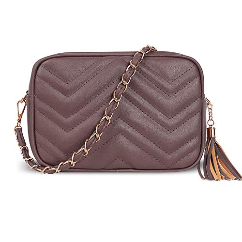 London 3 Design Bolsos Craze Taupe Mujer YAgn8dxS