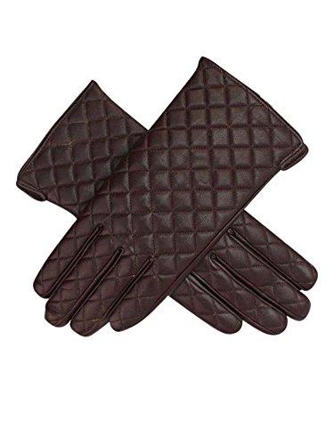 Snug継手Quilted Veganレザー手袋