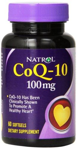 Natrol CoQ 10 100mg Softgels Count