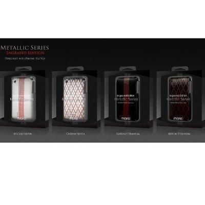 More Engraved Housse pour iPhone 3G/3GS Titanium