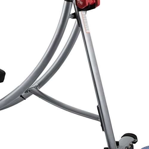 Popsport Abdomen Machine 330LBS Abdominal Coaster Abdomen Exercise Equipment with Adjustable Seat for Abdominal Muscle Training (Ab Coaster with 4 Dumbbells) by Popsport (Image #6)