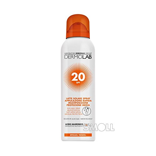 Dermolab solaire spray corps–Visage SPF20150ml