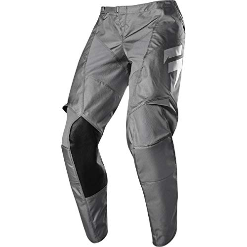 Shift Motorcycle Pants - Shift Racing Whit3 Ghost Collection LE Men's Off-Road Motorcycle Pants - Grey / 38