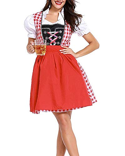 Maid Costume Dirndl Ladies Dress Medievale Xl Dimensione Oudan Immagine Fancy Womens Oktoberfest Immagine colore Come Beer qcftnyyU1