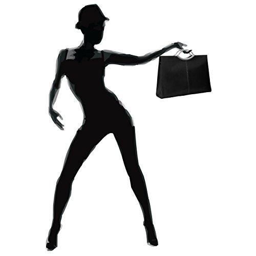 CASPAR Taschen & Accessoires - Bolso de asas para mujer negro