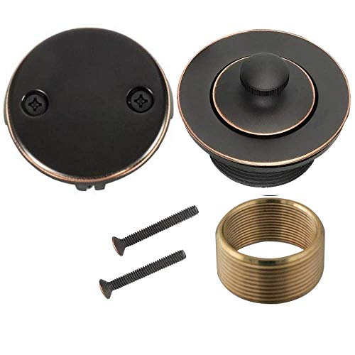 WG-100 Conversion Kit Bathtub Tub Drain Assembly, All Brass Construction (Oil-Rubbed Bronze Finish) (Drain Tub Cover Shower)