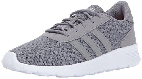 adidas Neo Damen Lite Racer W Casual Sneaker Graue Drei / Graue Drei / Matt Silber