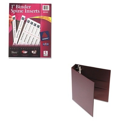 kitave79362ave89103 – Valueキット – Avery B00MOLAEZ4 heavy-duty ( Binder with EZD One Touch EZD Rings ( ave79362 )とAveryカスタムバインダー脊椎挿入( ave89103 ) B00MOLAEZ4, おしゃれ家具照明の快適ホームズ:00160739 --- integralved.hu