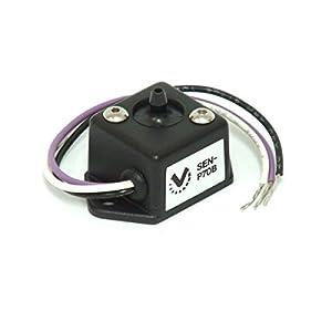 VEI Systems 90 PSI hi-res digital vacuum-boost gauge AND Valentine-1 remote radar display (red/silver)