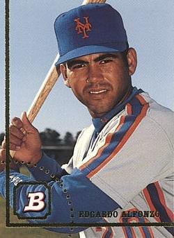 1994 Bowman Baseball #156 Edgardo Alfonzo Rookie Card