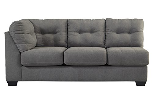 Benchcraft 4520066 Maier Left Arm Facing Sofa Charcoal