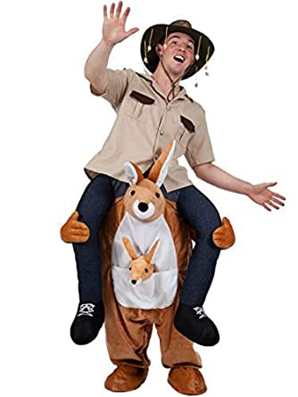 HAcostumes Novelty Piggy Back Funny Piggyback Costume Unisex - With Stuff Your Own Legs