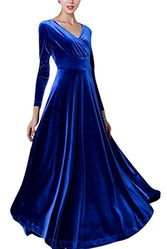 Silk Velvet Party Dress - 2