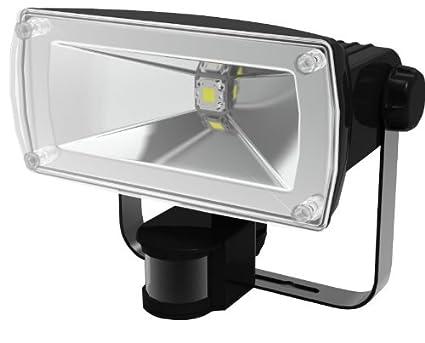 Rowi 1200210021 - Foco de pared con detector de movimiento y luces chip-LED de