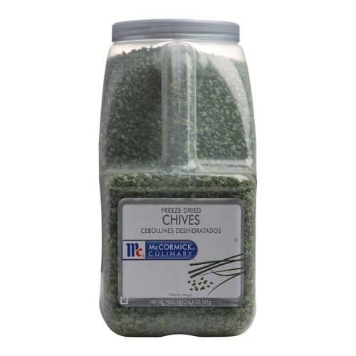 McCormick Freeze Dried Chives - 6.4 oz. container, 3 per case by McCormick