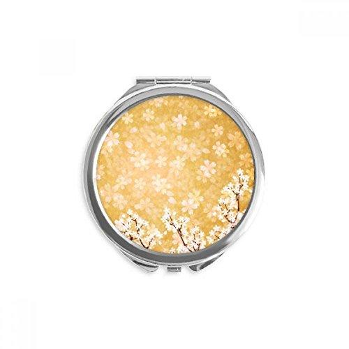 attern Japan Mirror Round Portable Hand Pocket Makeup ()