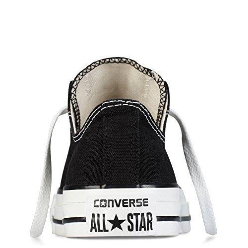 Mujer Converse All Star Ox Low Chuck Taylor Chucks Zapatillas Entrenadores - Negro - 42
