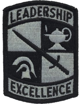 ROTC Cadet Leadership Excellence ACU Patch with Fastener
