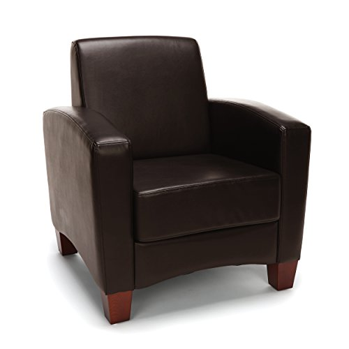 Essentials Traditional Arm Chair, Brown (ESS-9050-BRN)