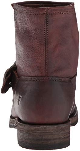 in di Stivali di Veronica legno Frye in Bootie di pelle sequoia q6PSpPxw