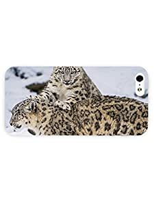 3d Full Wrap Case For HTC One M8 Cover Animal Leopards Playin