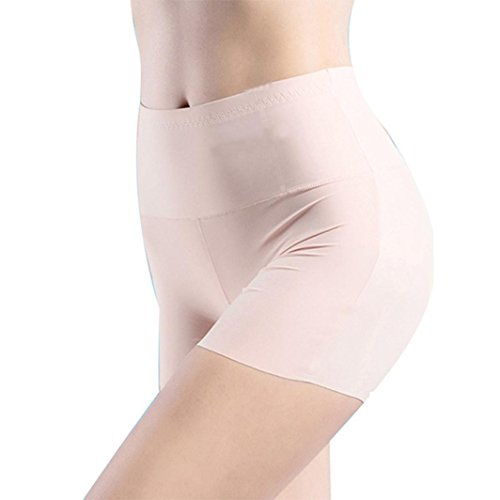 Short Leggings For Women,High Waist Body Underwear Tummy Control Boyshort Shapewear (Khaki, - Monroe Body Marilyn Shaper