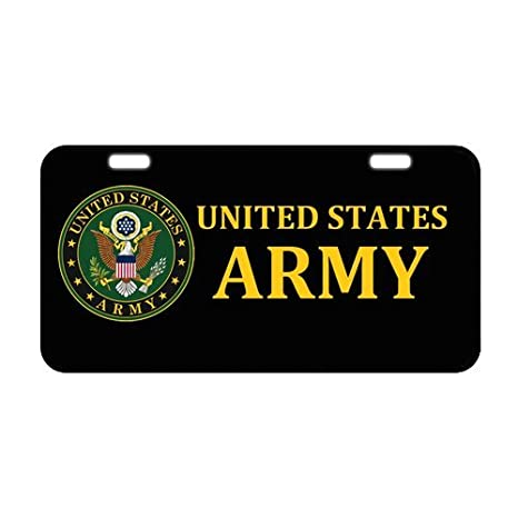 Military Usarmy Elegant And Sturdy Package Car Grille Emblem Badges