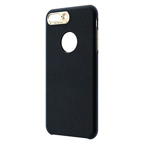 BASEUS Genya Leather Tasche Hüllen Schutzhülle - Case für iPhone 7 Plus 5.5 Soft Microfiber Protection Tasche Hüllen Schutzhülle - cover - schwarz