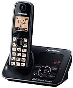 Panasonic Cordless Telephone - Black [KX-TG3721]