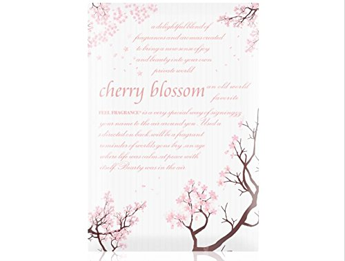Cherry Blossom Scented Sachet for Drawers and Closets - Feel Fragrance Sachets, Lot of 8 (Cherry Blossom) by Feel Fragrance ®