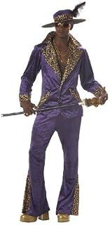 Deluxe Purple Pimp Menu0027s 1970s Fancy Dress Outfit 70s Adult Costume + Hat XL by Mega  sc 1 st  Amazon.com & Amazon.com: Shrek Costume Kids Orge Outfit Medium Age 5 - 7 ...
