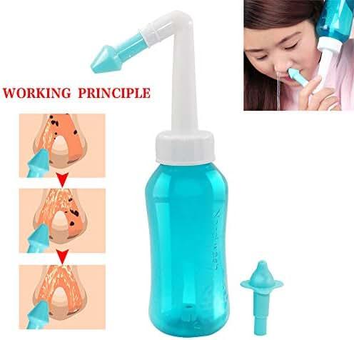 300ML Adults Children Nasal Wash Cleaner Nose Protector Cleans Moistens Child Adult Avoid Allergic Rhinitis Neti Pot
