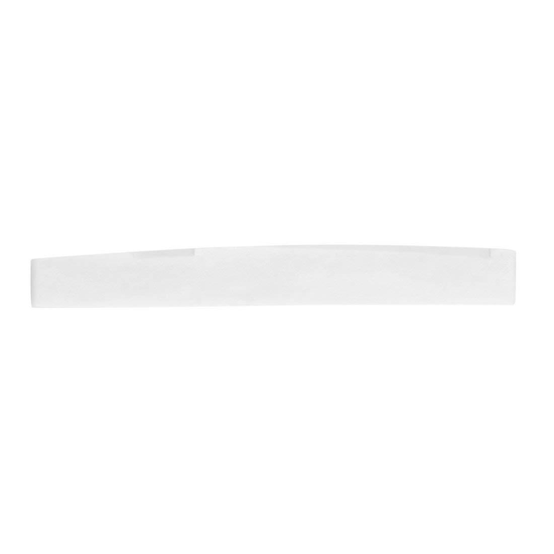 vbncvbfghfgh Ivory White 2.83 x 0.35 x 0.12 Pulgadas Piezas de Repuesto de sill/ín de Puente de Guitarra de Hueso de b/úfalo cl/ásico para Guitarra ac/ústica de 6 Cuerdas