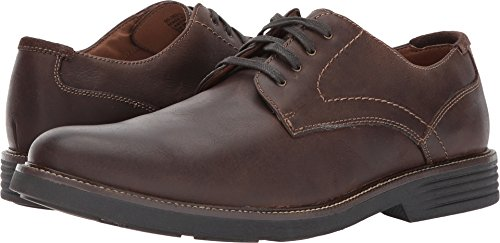 Dockers Men's Parkway Plain Toe Oxford Dark Brown Waxy Burnished Full Grain 15 D US